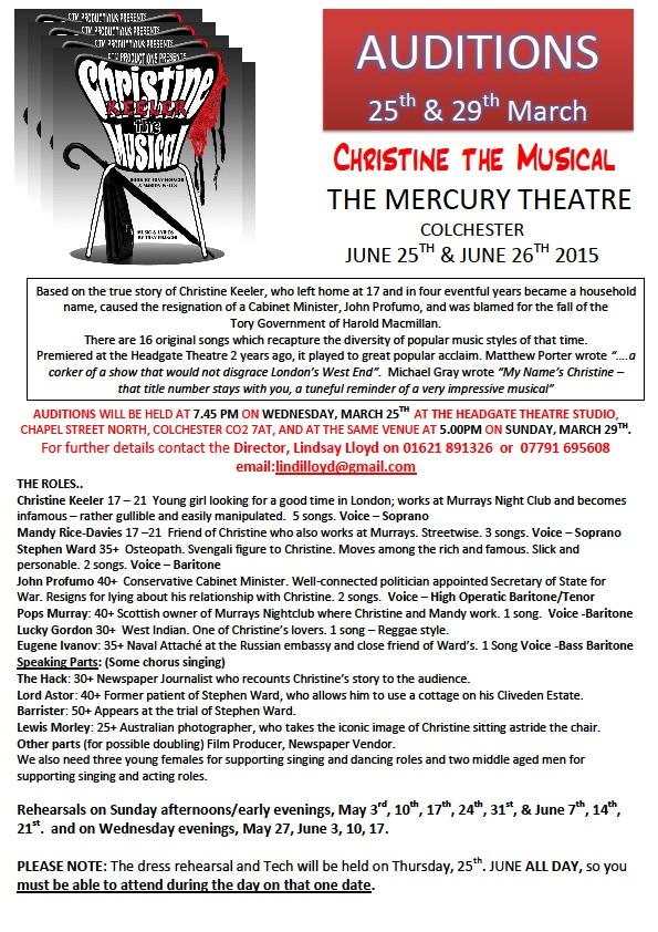 Christine 2015 flyer